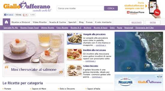 Il miglior food blog italiano